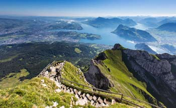 Mt. Pilatus near Lucerne, Switzerland.