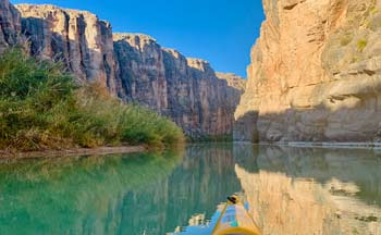 Kayaking on the Rio Grande River